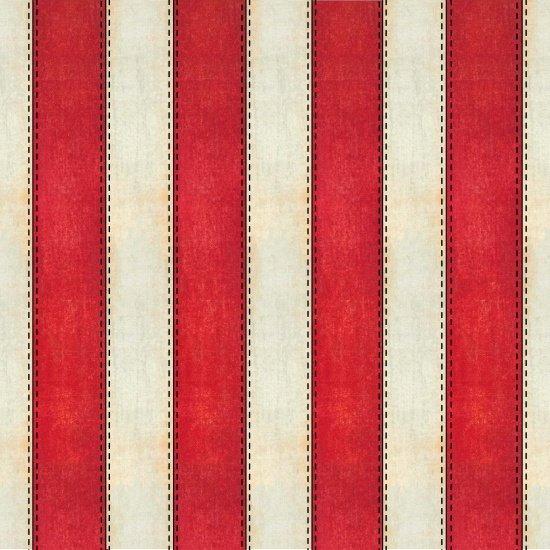 American Honor Red/Ivory Stripe