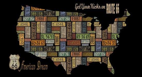 American Dream USA Map