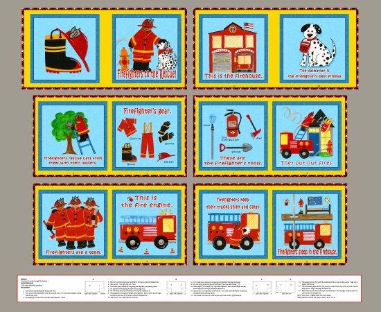 Five Alarm Fire Book Panel