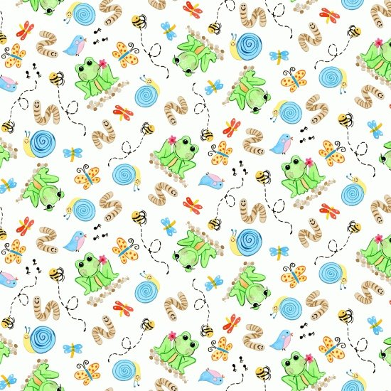 Toby Turtle bugs and frogs