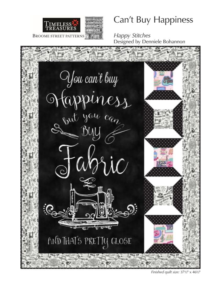 Can't Buy Happiness - Digital Pattern