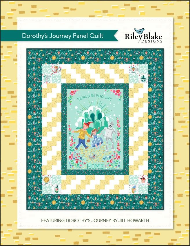 Dorothy's Journey Panel Pattern - Digital Download