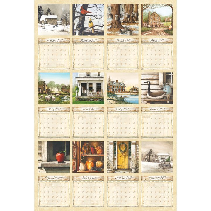 2017 Country Living Calendar