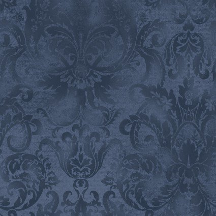 Aged to Perfection Softened Damask Navy