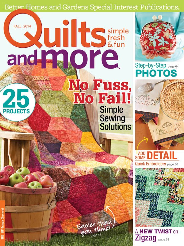 Quilts and More Magazine