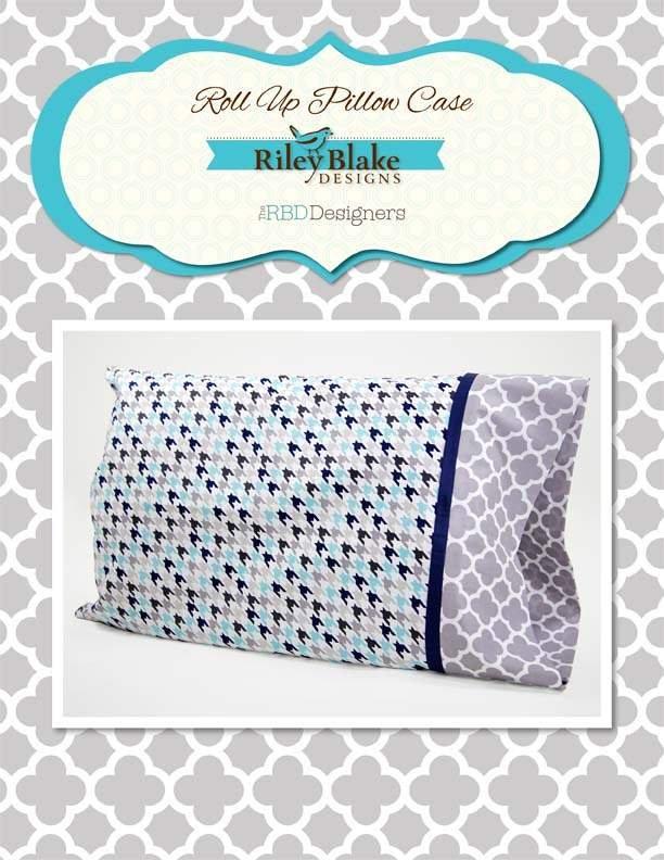 Roll up Pillowcase - Digital Download