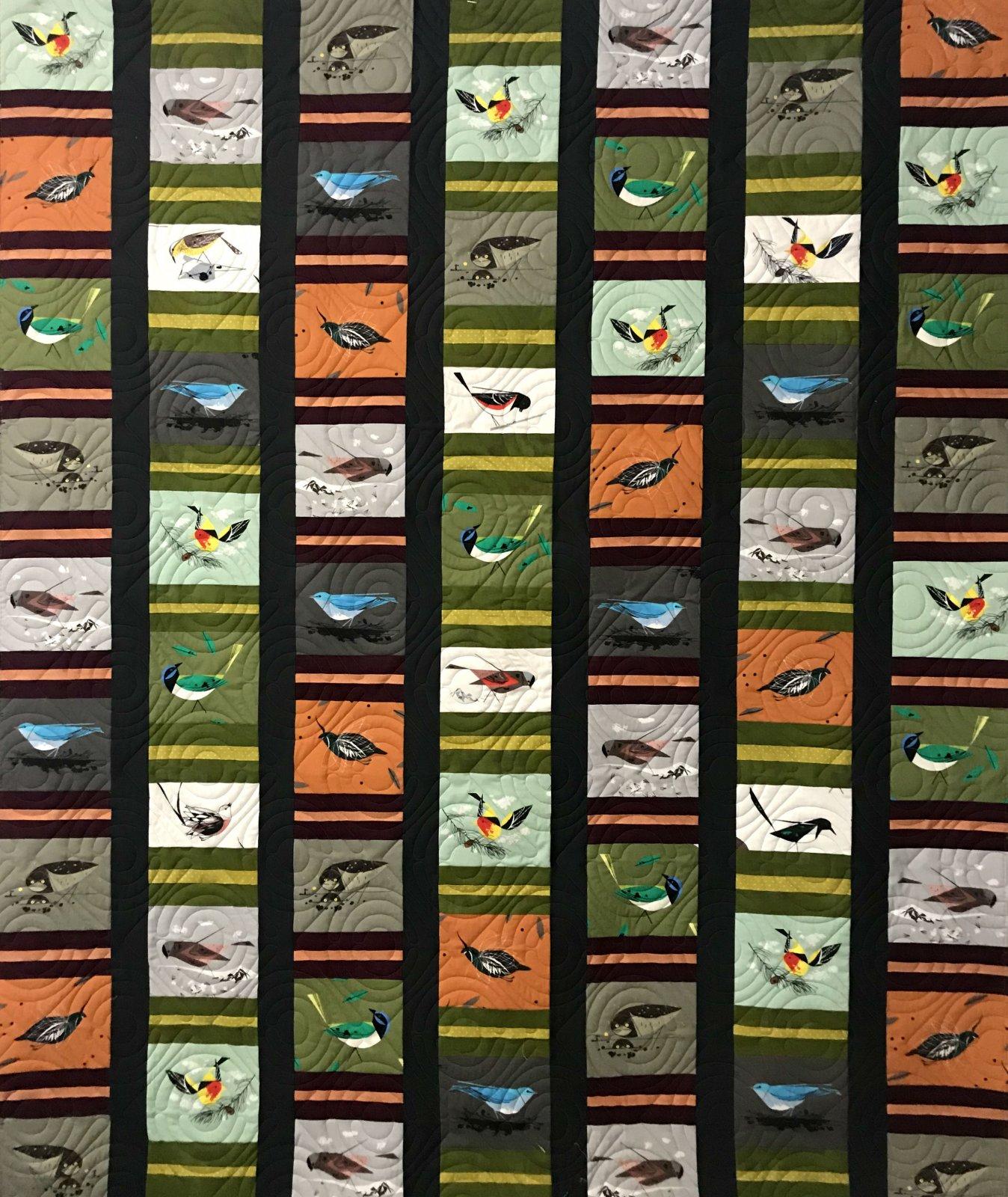 Charlie Harper Western Birds