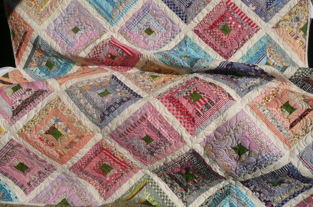 Vintage Clothing Quilt