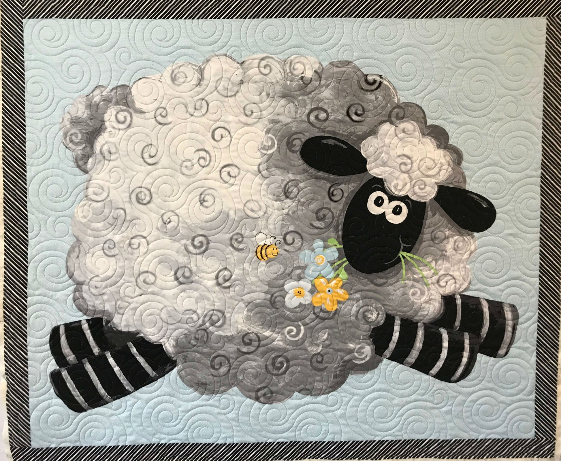 Lamb Baby Quilt