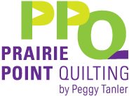 Prairie Point Quilting by Peggy Tanler