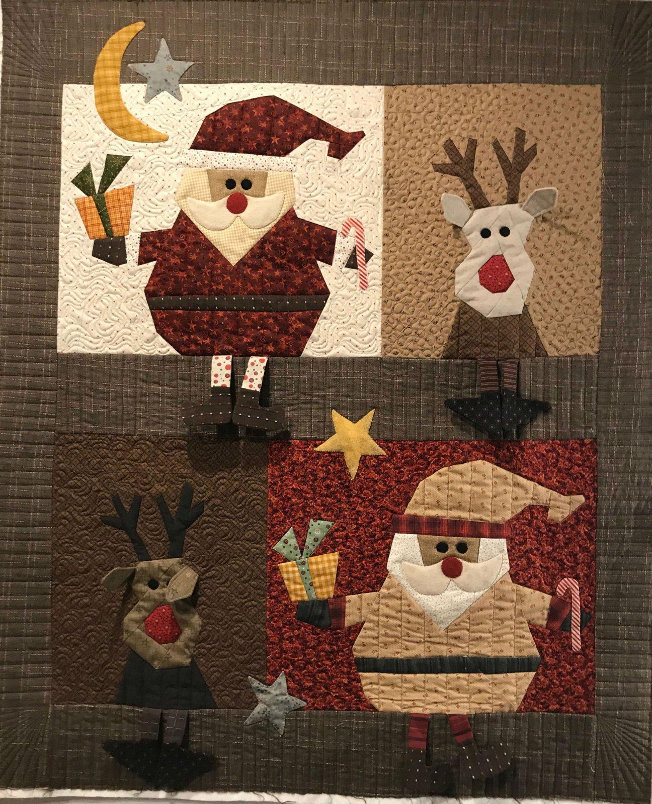Santa & Reindeer 1
