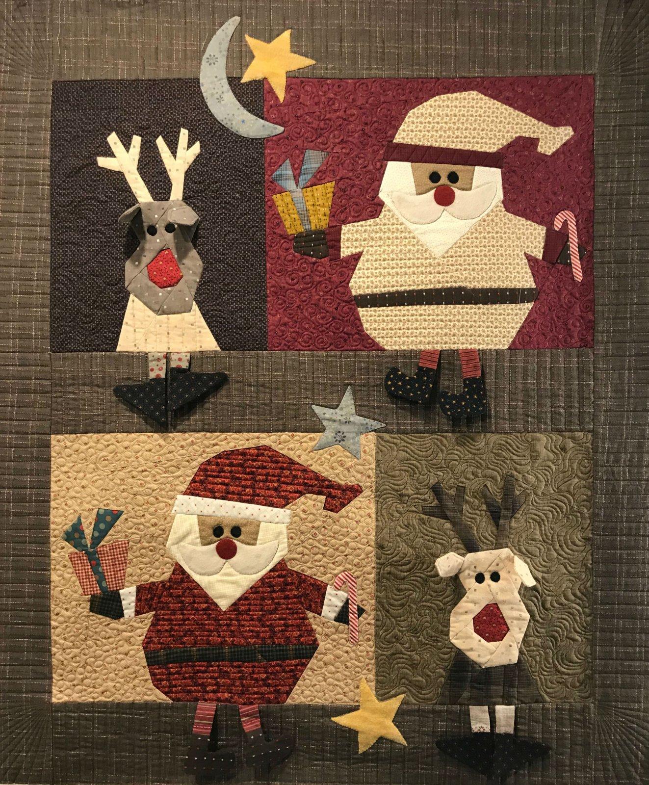 Santa & Reindeer 3