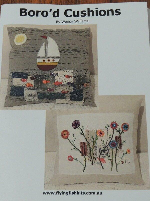 Wendy Williams : Boro'd  - Cushion pattern