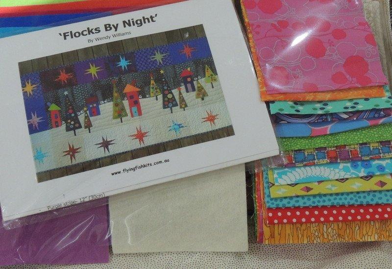 Wendy Williams : Flocks by Night - Wool Felt Kit