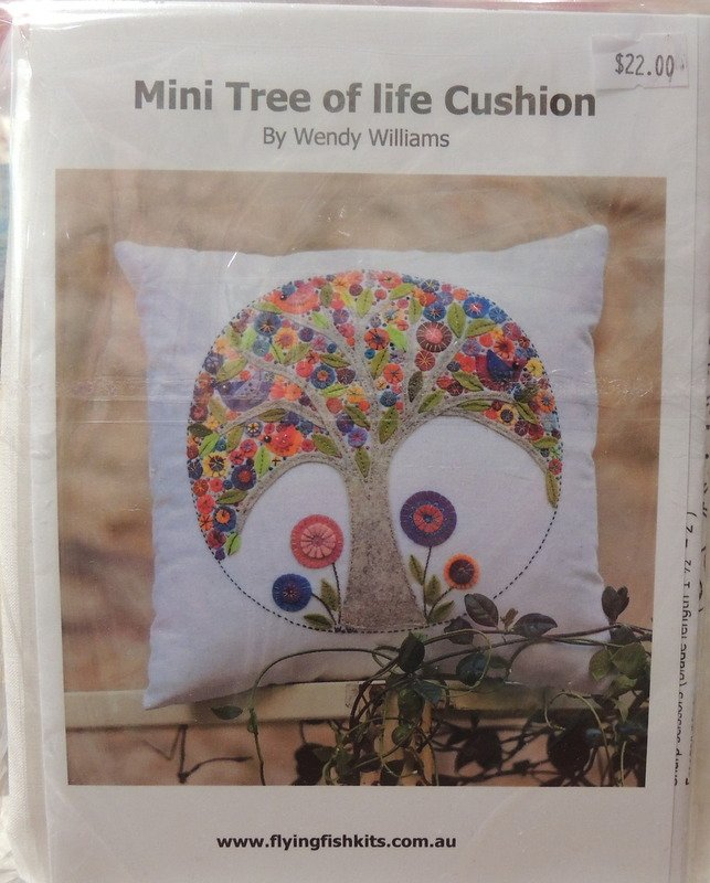 Wendy Williams : Mini Tree of Life - Wool Felt Kit
