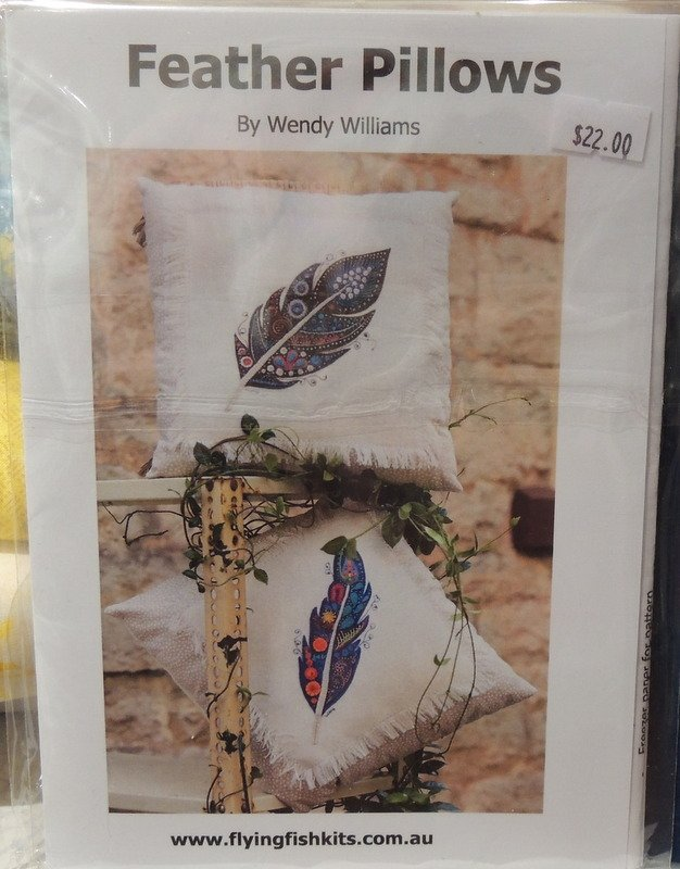 Wendy Williams : Feather Pillows - Wool Felt Kit
