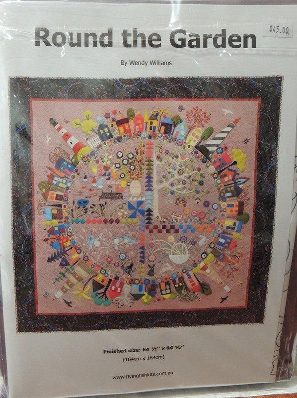 Wendy Williams : Round the Garden Quilt - Wool Felt Kit