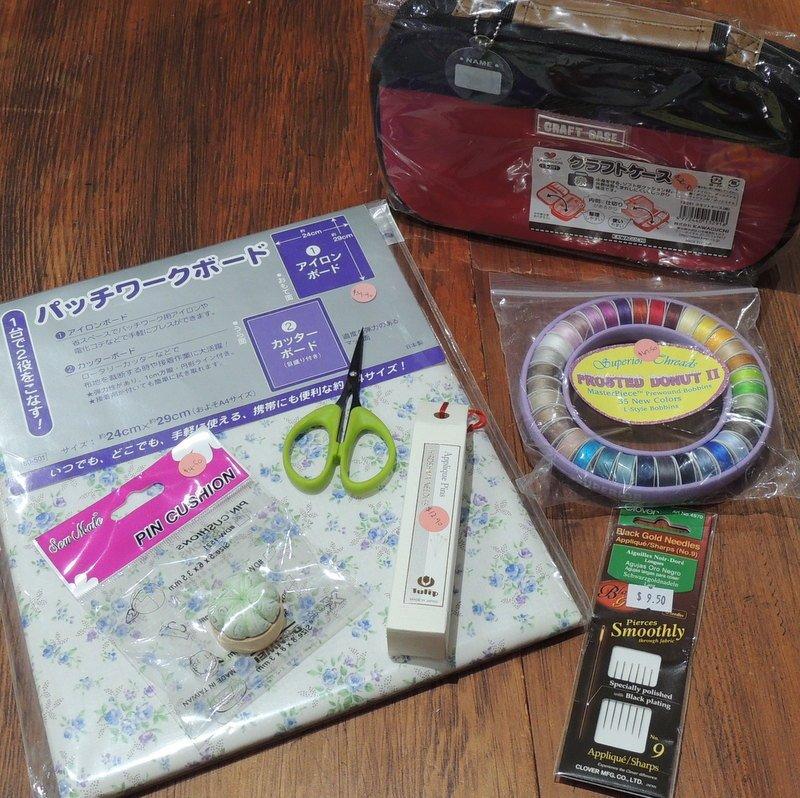 Haberdashery kit - Hand Applique Pack