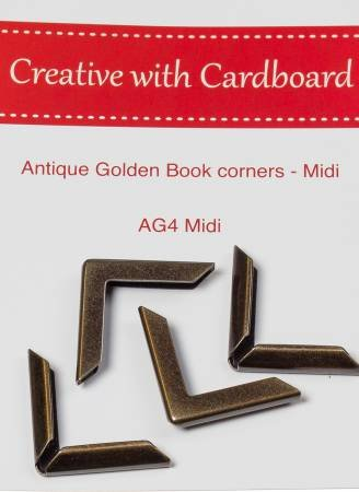 Rinske Stevens Designs: Antique Golden Book Corners Midi