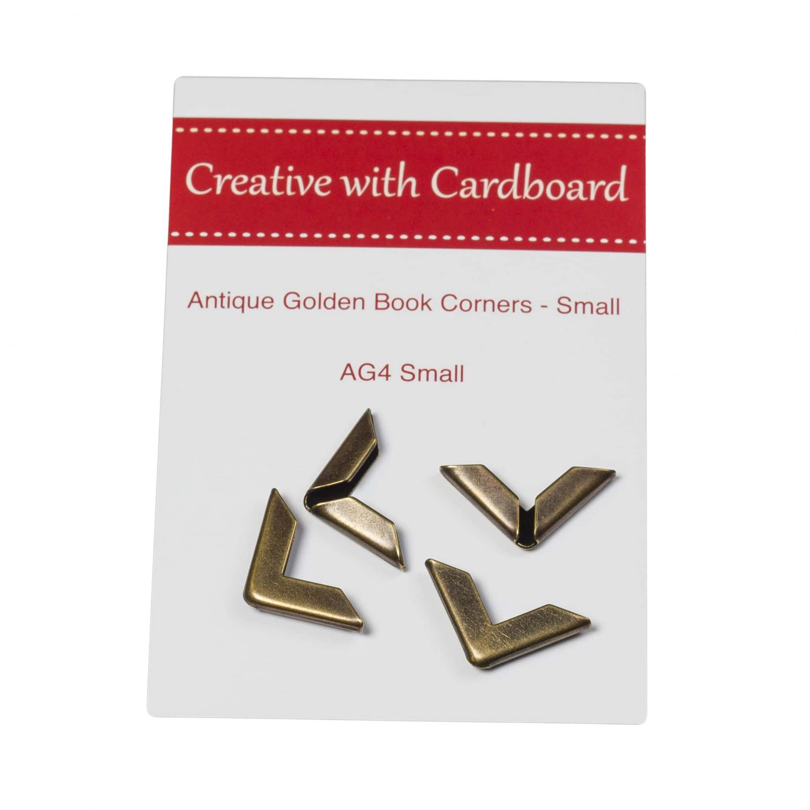 Rinske Stevens Designs: Antique Golden Book Corners Small