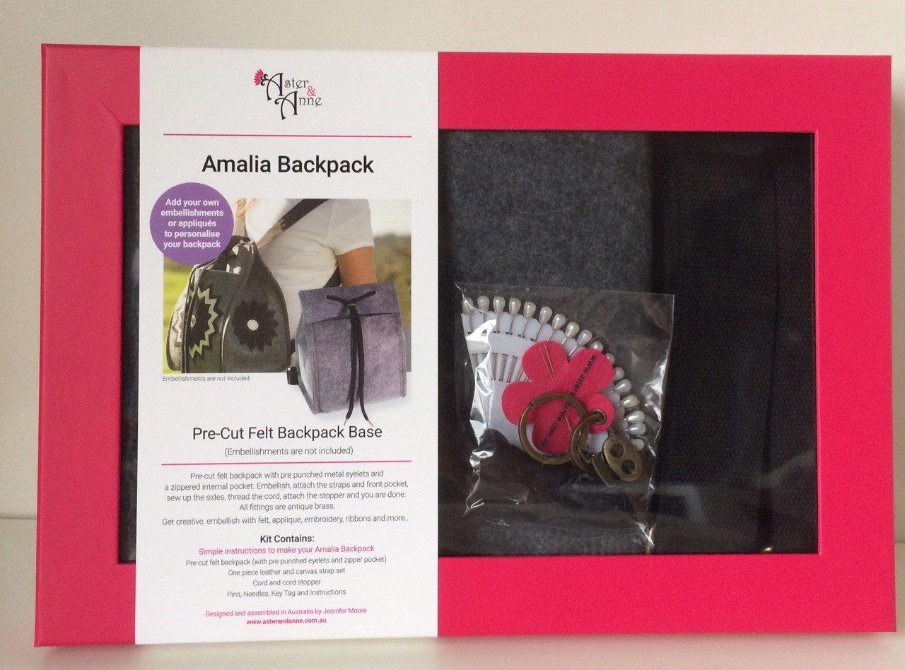 Aster & Anne Felt Bag Kit - Amalia Back Pack