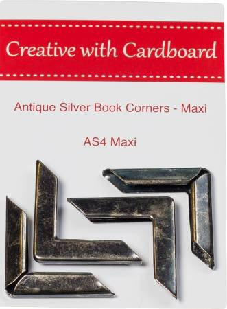 Rinske Stevens Designs: Antique Silver Book Corners Maxi