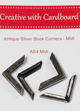 Rinske Stevens Designs: Antique Silver Book Corners Midi