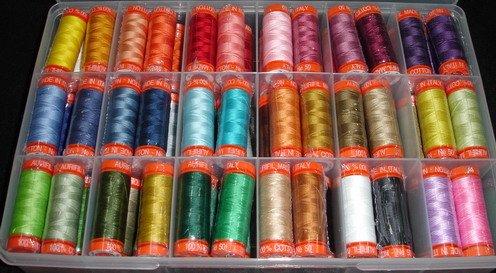 Aurifil 50 wt thread club