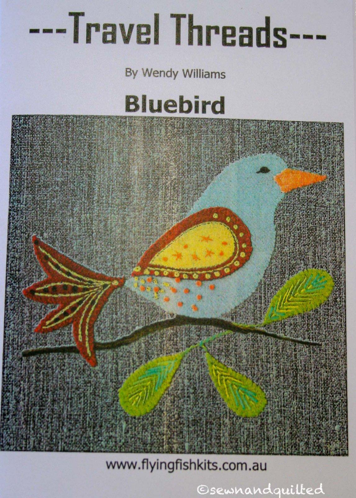 Wendy Williams : Travel Threads - Bluebird