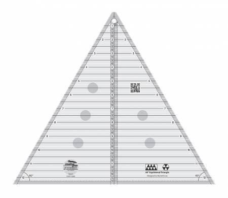 Creative Grids 60 Degree Triangle 12 1/2 Ruler