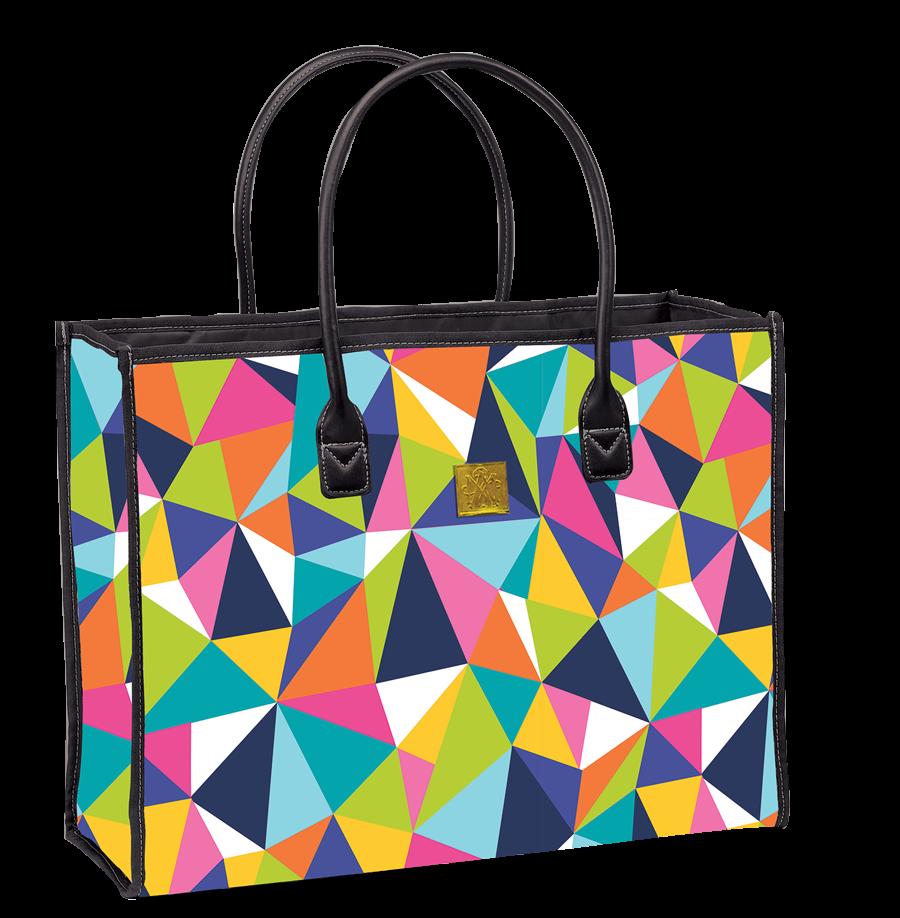 Colorific Brilliance by Maude Asbury - All Purpose Tote Bag