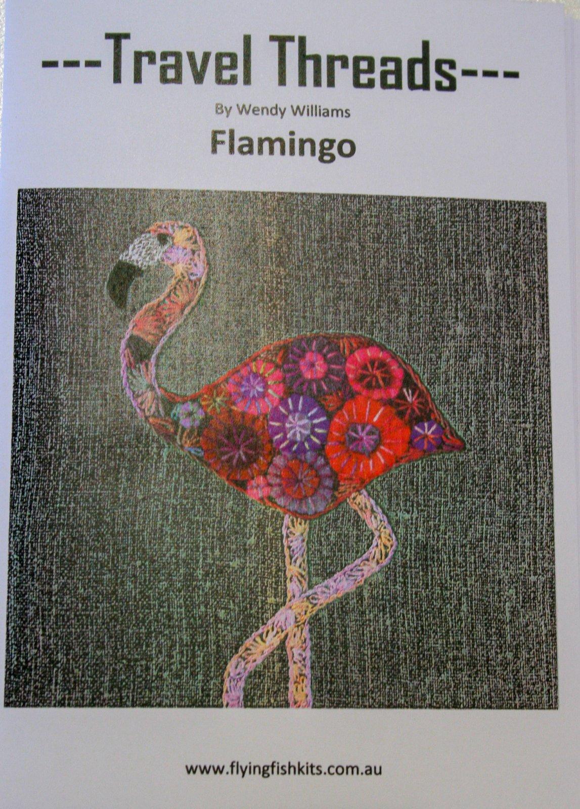 Wendy Williams : Travel Threads - Flamingo