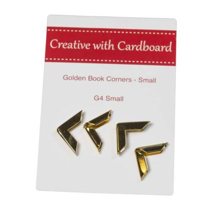 Rinske Stevens Designs: Gold Book Corners Small
