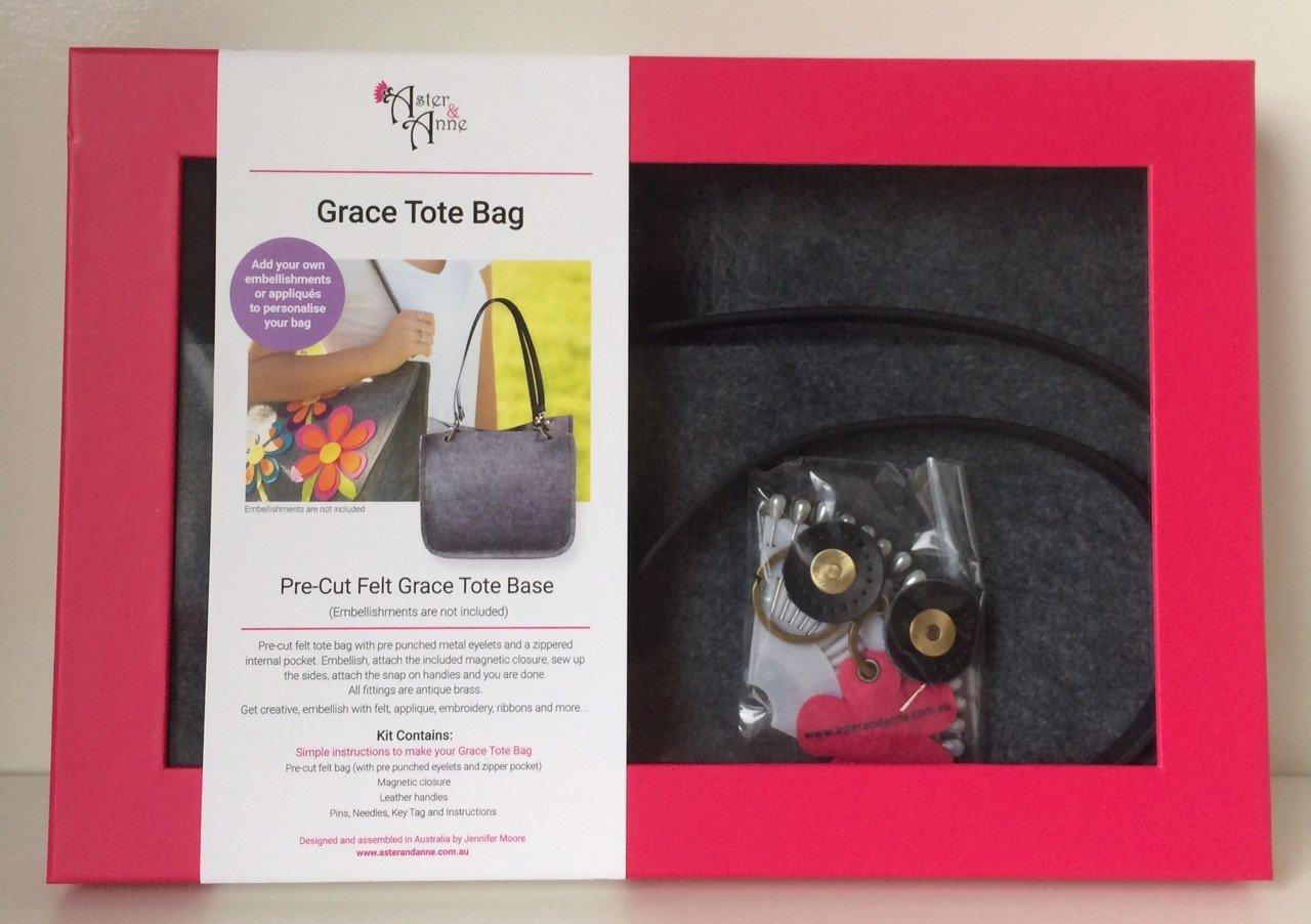 Aster & Anne Felt Bag Kit - Grace Tote