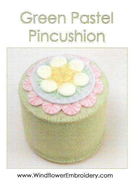 Green Pastel Pincushion