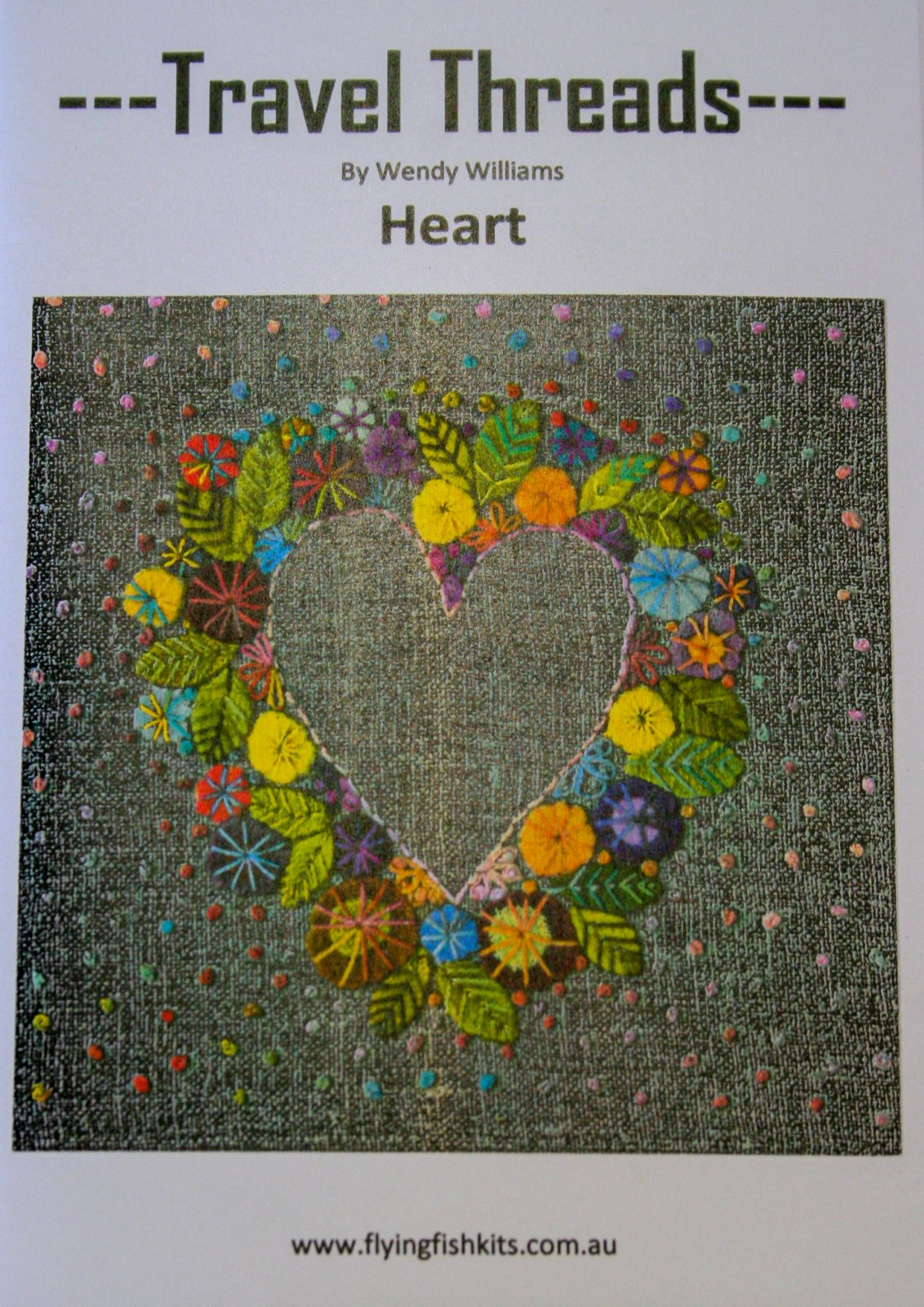 Wendy Williams : Travel Threads - Heart
