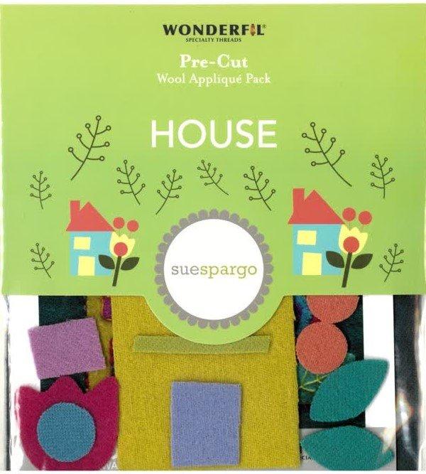 Sue Spargo House Pre-cut Wool Applique Pack