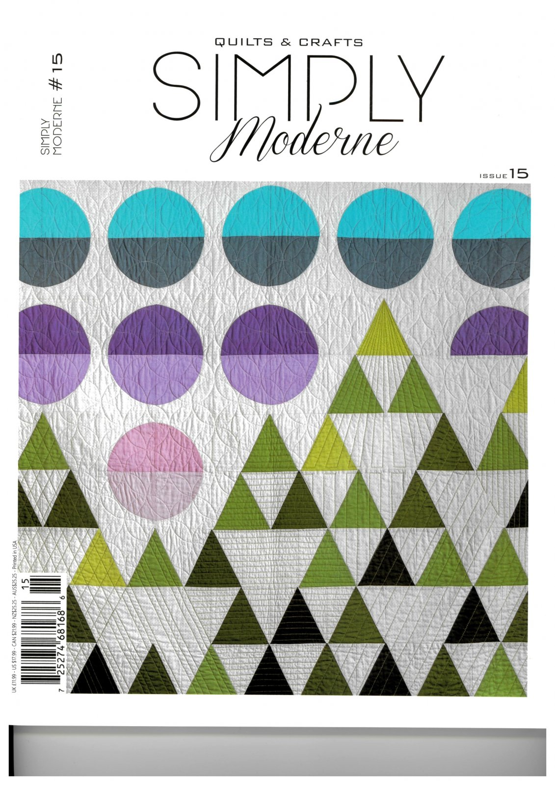 Quiltmania - Simply Moderne # 15
