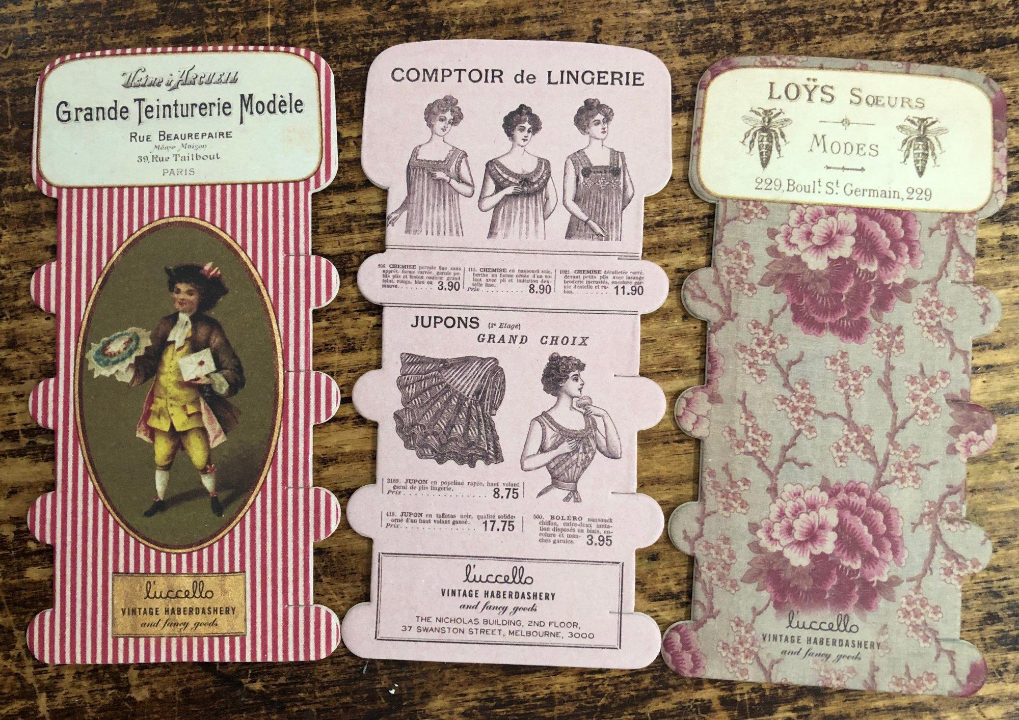 Luchello Thread and Ribbon Storage Cards