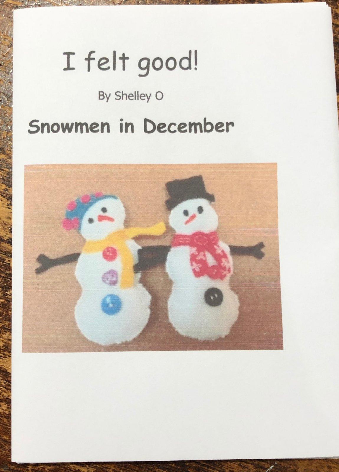 Snowmen in December