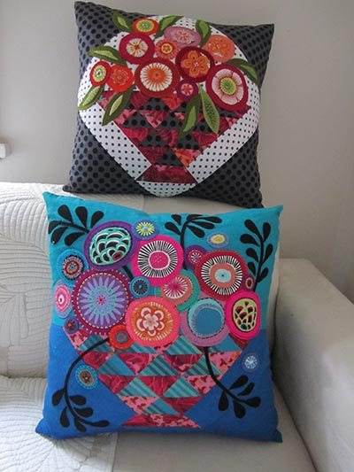 Wendy Williams : Bloomin Basket - Cushion Pattern