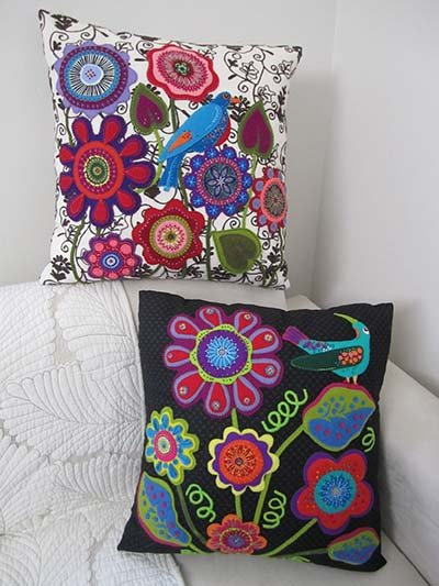 Wendy Williams : Tropical Fever - Cushion Pattern