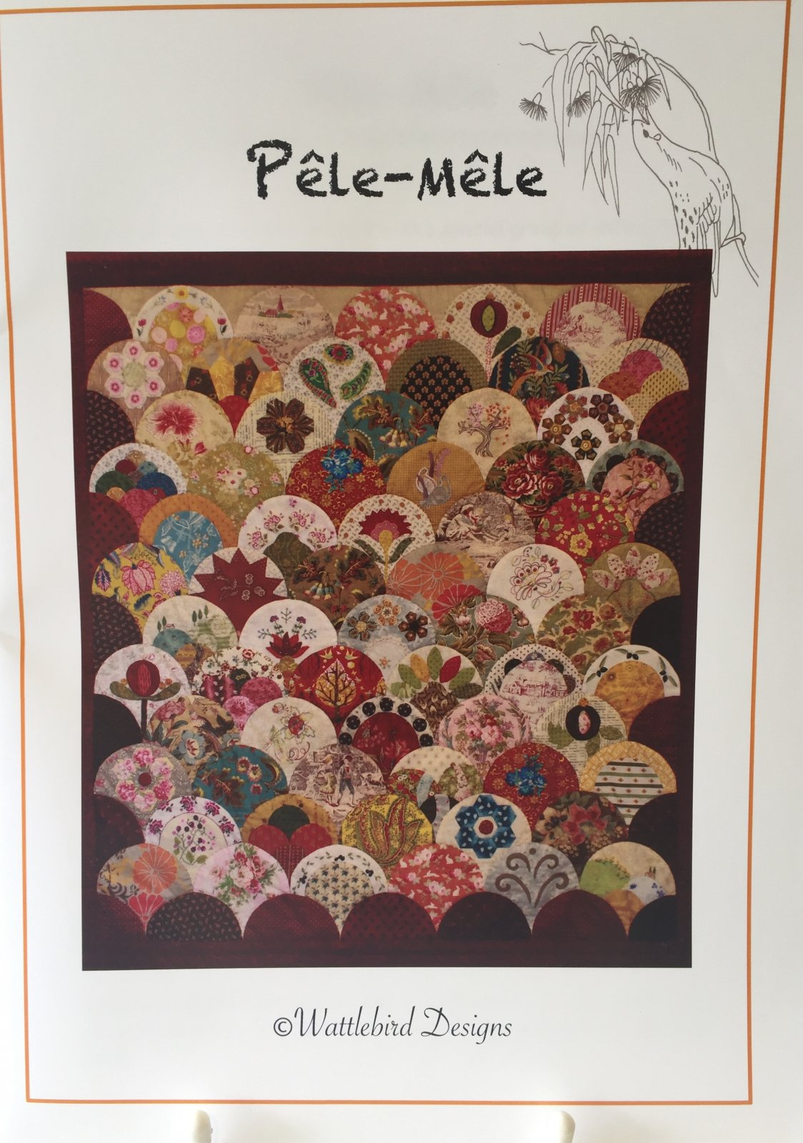Veronique's Quilt Designs: Pele Mele - Pattern Only