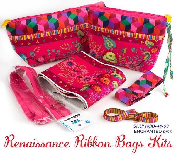 Renaissance Ribbon Bag - Enchanted Pink