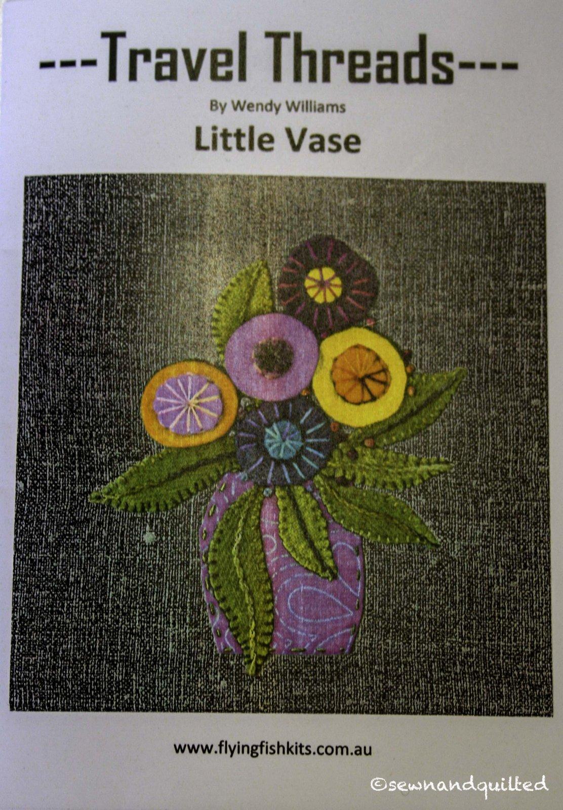 Wendy Williams : Travel Threads - Little Vase