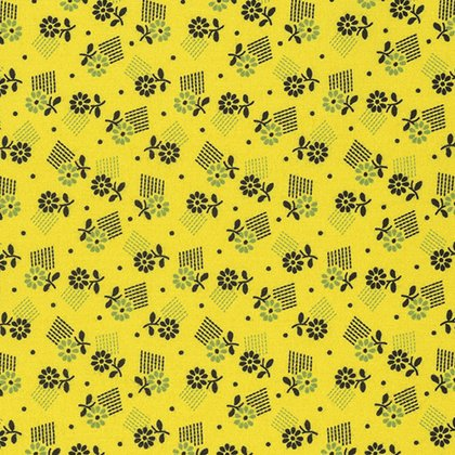 Denyse Schmidt : Stonington Tossed Floral - Twist
