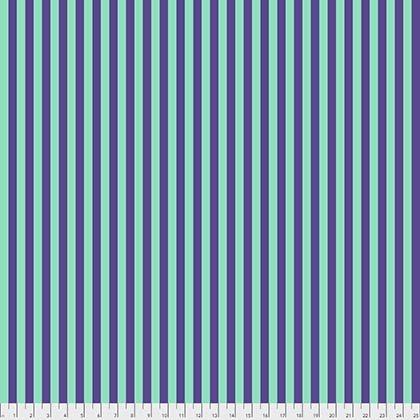 Tula Pink : All Stars Tent Stripe - Iris