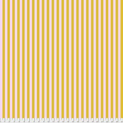 Tula Pink : All Stars Tent Stripe - Marigold