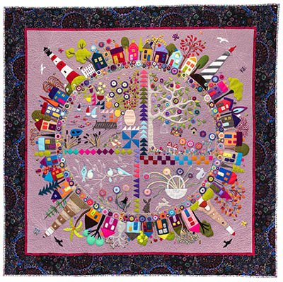 Wendy Williams : Round the Garden - Quilt Pattern