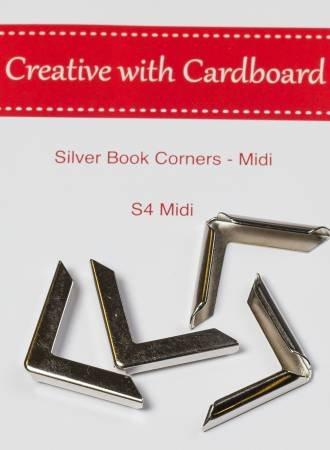 Rinske Stevens Designs: Silver Book Corners Midi